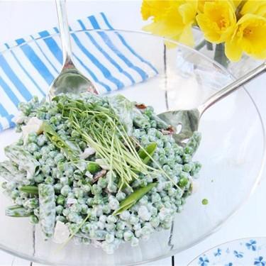 Four Pea Salad Recipe | SideChef