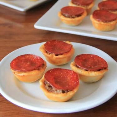 Mini Pizza Tartlets Recipe | SideChef