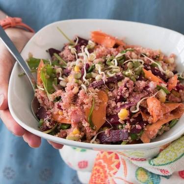 Pretty in Pink Quinoa Bowl Recipe | SideChef