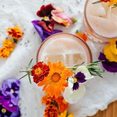 Lavender Milk Punch Recipe | SideChef