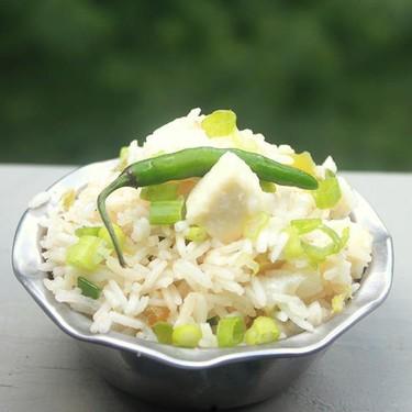 Paneer Fried Rice Recipe   SideChef