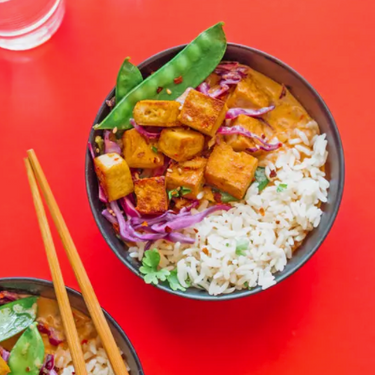 Weeknight Vegetarian Coconut Curry Recipe   SideChef