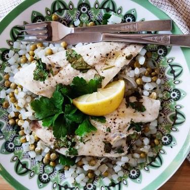 Baked Orata with Konjac Rice Recipe   SideChef