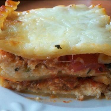 Bison and Vegetable Lasagna Recipe   SideChef