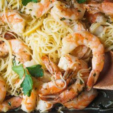 Roasted Shrimp Scampi Recipe   SideChef