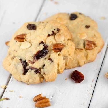 White Chocolate Cherry Cookies Recipe | SideChef