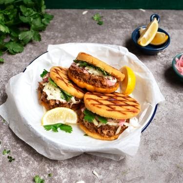 Pulled Pork Arepas Recipe | SideChef