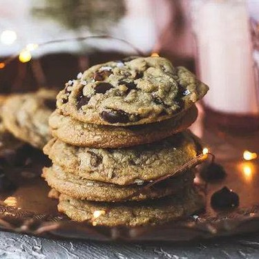 Browned Butter Candied Pecan Dark Chocolate Chip Cookies Recipe | SideChef