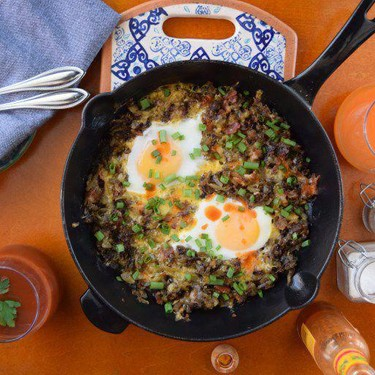 Breakfast Skillet for Two Recipe | SideChef