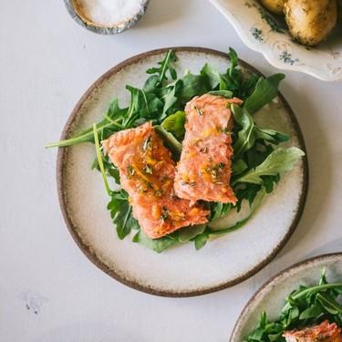 Rosemary and Marmalade Glazed Salmon Recipe | SideChef