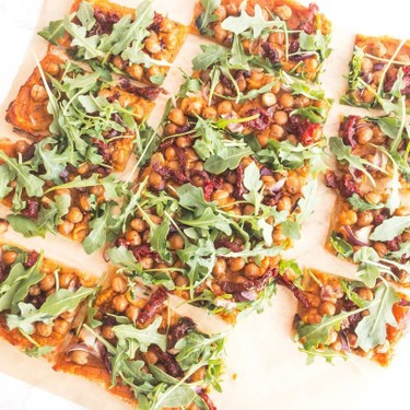 Vegan Chickpea Sweet Potato Pizza Recipe   SideChef