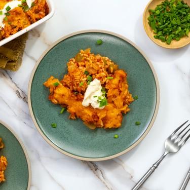 Salsa Chicken Casserole Recipe   SideChef