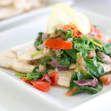 Summertime Chicken with Spinach Recipe | SideChef