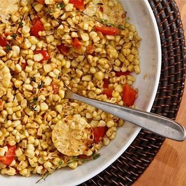 Warm Corn Salad Recipe | SideChef