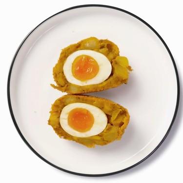 Masala Scotch Eggs Recipe | SideChef