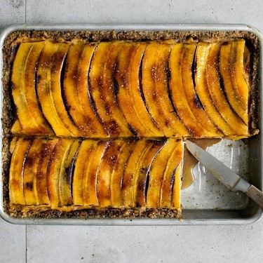 Banana & Peanut Butter Mascarpone Pie Recipe | SideChef