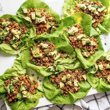 Vegan Green Goddess Mexican Lettuce Wraps Recipe   SideChef