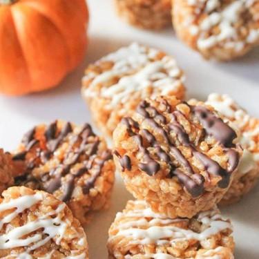Pumpkin Spice Rice Krispie Treat Bites Recipe   SideChef