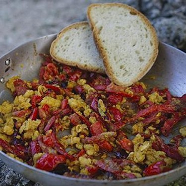 Peppers and Eggs Recipe | SideChef