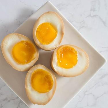 Half-Boiled Ajitama (Seasoned Eggs for Ramen) Recipe | SideChef