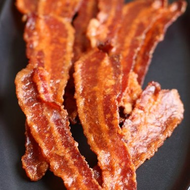 Spicy Maple Candied Bacon Recipe | SideChef
