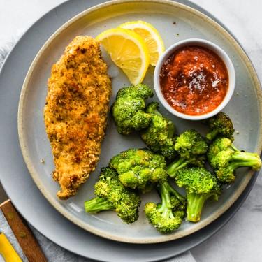 Almond Crusted Chicken and Veggies Recipe | SideChef