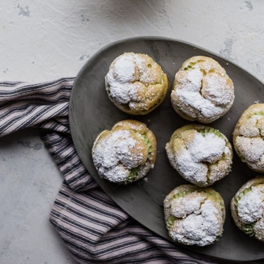 Matcha Cream Puffs Recipe   SideChef