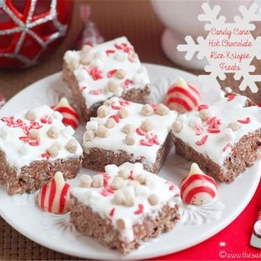 Candy Cane Hot Chocolate Rice Krispies Recipe   SideChef