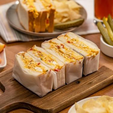 Pimento Egg Sandwich Recipe   SideChef