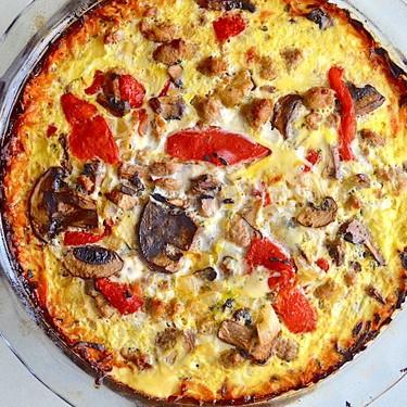Sweet Potato Crust Quiche Recipe | SideChef