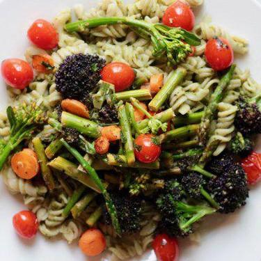 Vegan Kale Pesto Spring Primavera Recipe | SideChef