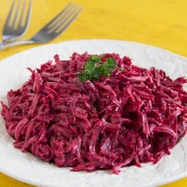 Creamy Beet Salad Recipe | SideChef
