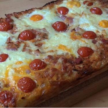 Easy Bacon and Egg Breakfast Focaccia Recipe | SideChef