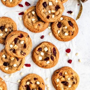 White Chocolate Cranberry Cookies Recipe | SideChef