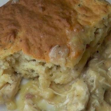 Creamy Chicken and Scone Bake Recipe | SideChef