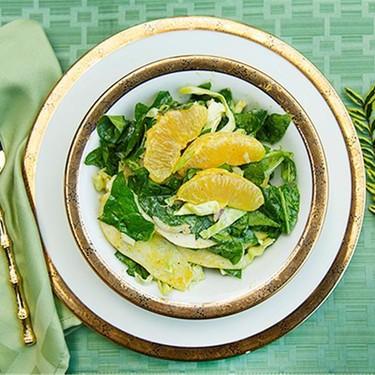 Spinach, Pear, and Orange Salad Recipe | SideChef