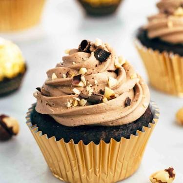 Chocolate Nutella Crunch Cupcakes Recipe   SideChef