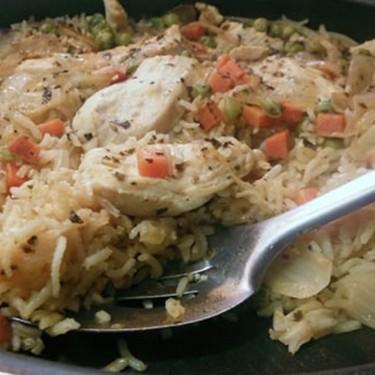 Easy Skillet Chicken and Rice Recipe   SideChef