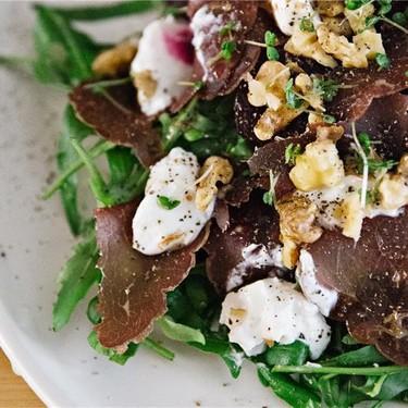 Bresaola, Arugula & Roast Baby Beet Salad Recipe | SideChef