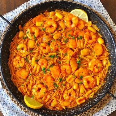 Spanish Seafood Fideua Recipe | SideChef