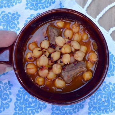 Chickpea and Beef Stew Recipe | SideChef