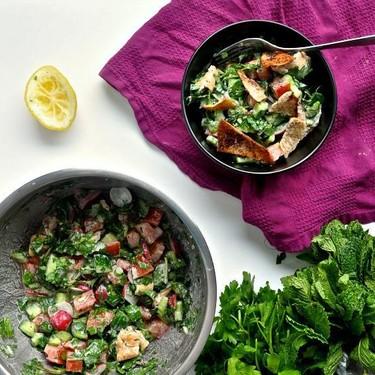Fattoush Salad Recipe | SideChef