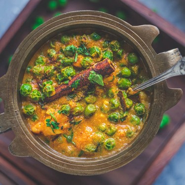 Khoya Mutter (Green Peas Masala) Recipe | SideChef