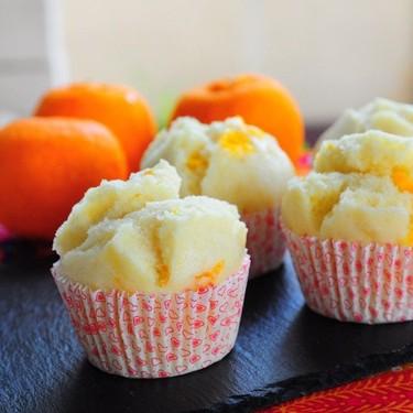 Steamed Mandarin Orange Muffin (Huat Kueh) Recipe | SideChef