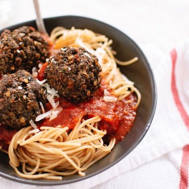 Vegetarian Lentil and Mushroom Meatballs Recipe   SideChef