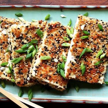 Sesame-Crusted Tofu with Nuoc Cham Recipe   SideChef