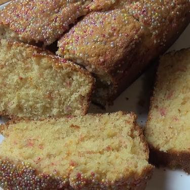 Rainbow Loaf Cake Recipe | SideChef