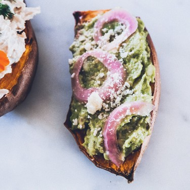 Avocado and Tuna Brekky Boats Recipe | SideChef