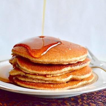 Chocolate Chip Almond Pancakes Recipe   SideChef