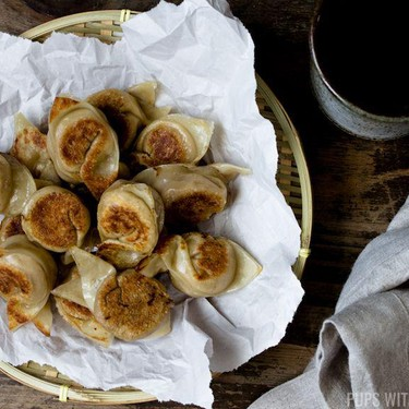 Sweet & Savory Salted Egg Taro Dumplings Recipe | SideChef